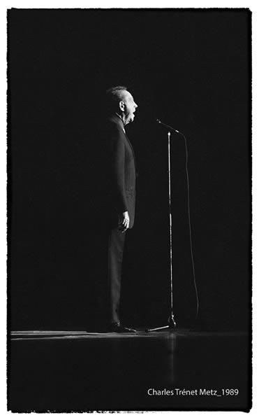 Charles Trenet à Metz 1989