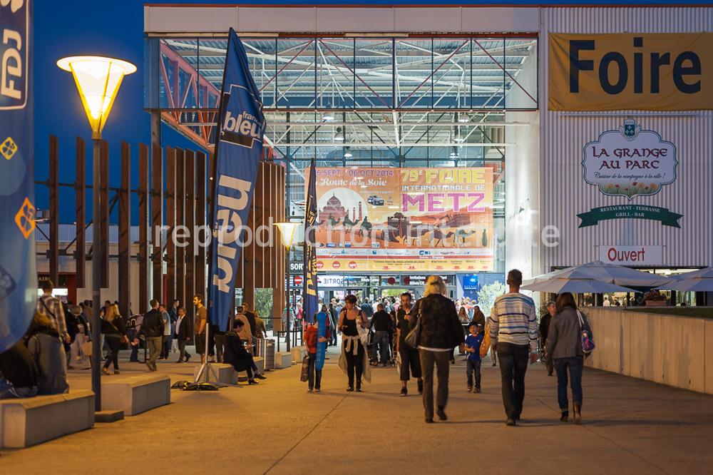 Metz congrès, reportage sur la foire international de Metz 2014