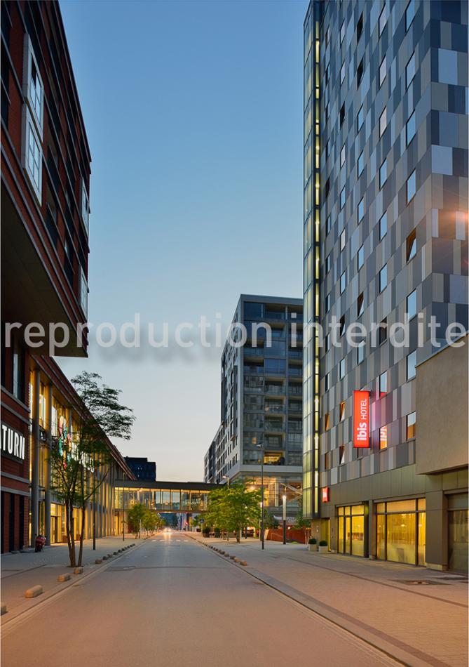 Agence Abaca (75) pour le groupe Accord, prise de vue type architecture à Esch sur Alzette