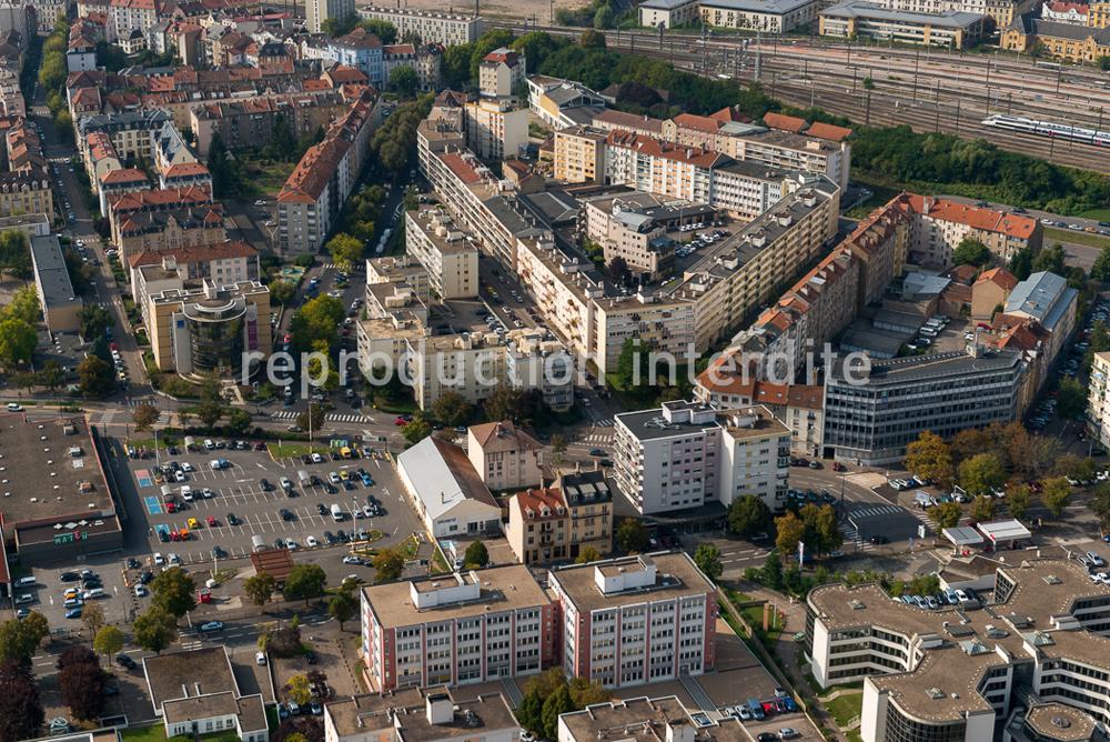 Metz expo, vues aériennes de Metz