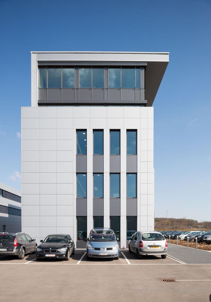 Plate forme logistique Transalliance à Dudelange Bureau Kieffer + Cloche d'Or à Luxembourg