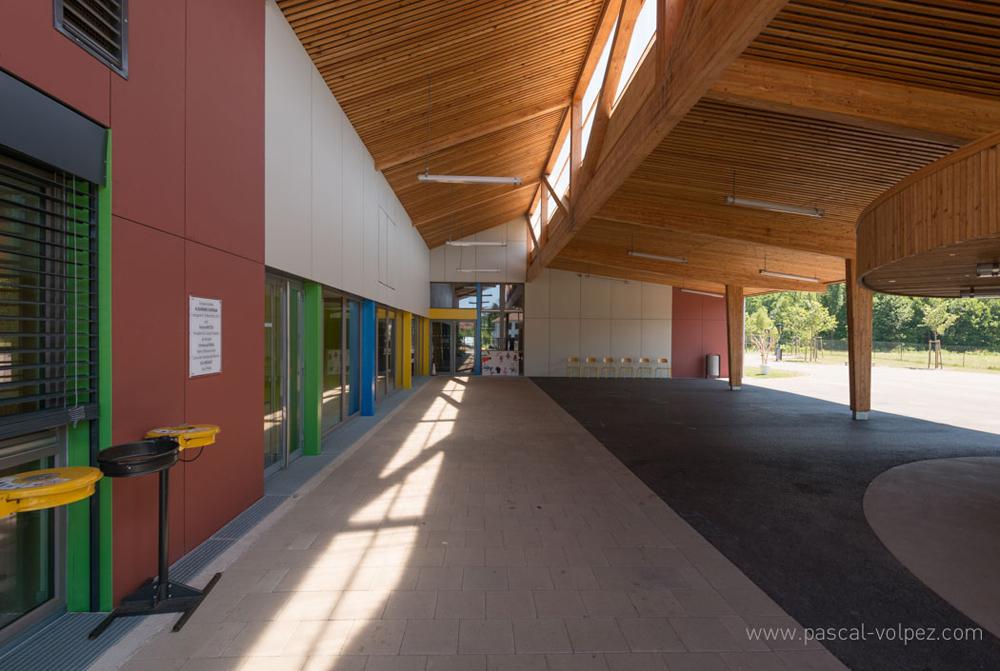 Ecole élémentaire et accueil périscolaire à Abreschviller (57)