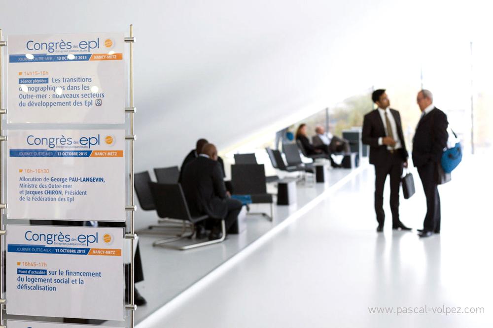 Congrès de la Fédération EPL à Nancy client : Entreprise Publique Locale (75)