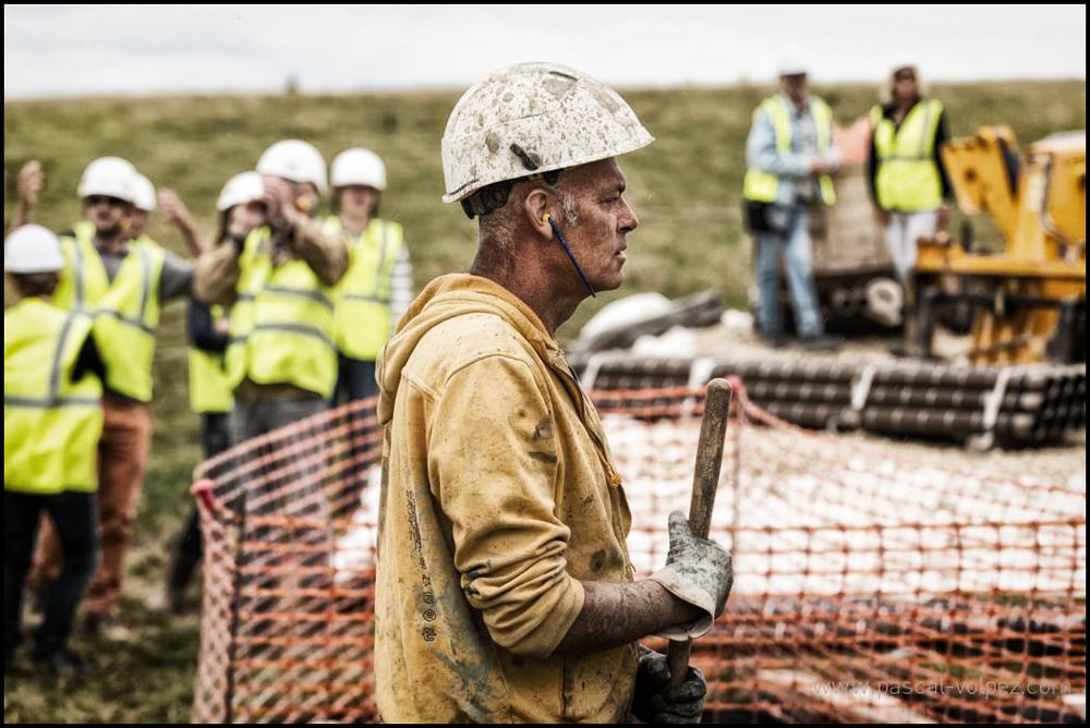 Suivi de chantier, réalisation de la ligne 400 000 Volts Lonny, Seuil, Vesle