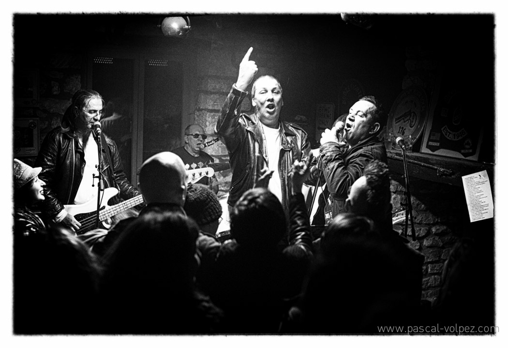 Les ramones: IMMER GERADE AUS tribute to Ramones à Mecrin (55)