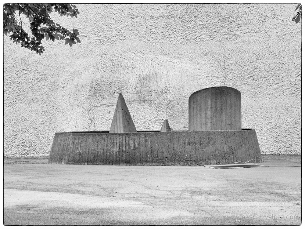 Chapelle de Ronchant (88), architecte Le Corbusier