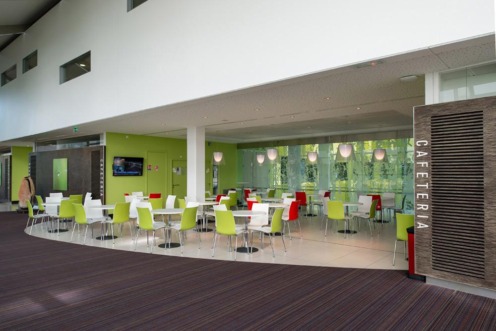 Cafétéria hôpital de Mercy client : agent Antidote à Bertrange (luxembourg)