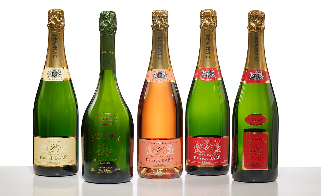 Champagne Babé Le Mesnil-sur-Oger (51) - <a href=http://www.patrickbabe.com/main.html#0 target=_blank>site web</a>