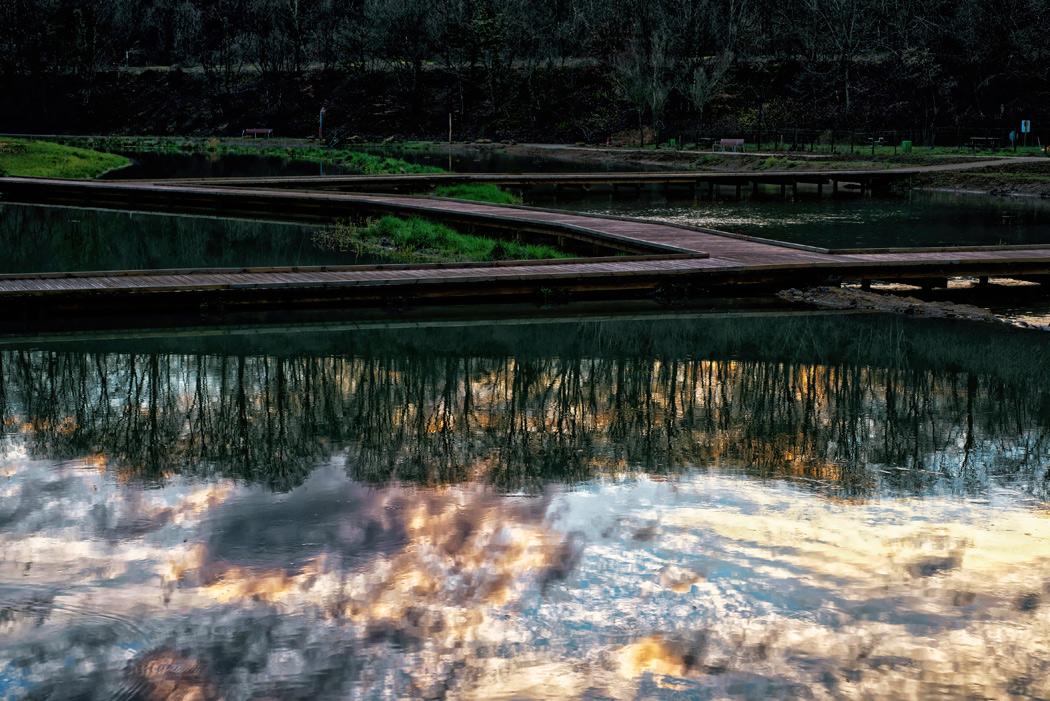 convergence de vue(s) travail sur les rives de l'orne et du plan d'eau de la sangsue à Briey, association La Première Rue Unité d'Habitation Le Corbusier à Briey