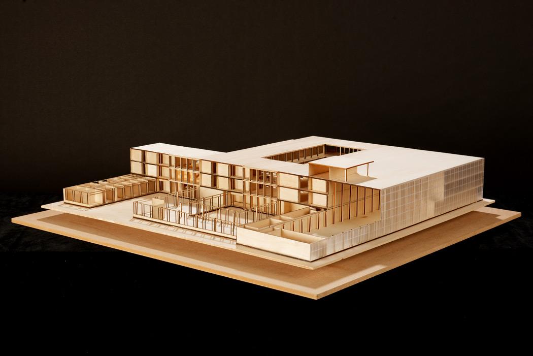 Prise de vue de maquette d'architecture, photographie de studio