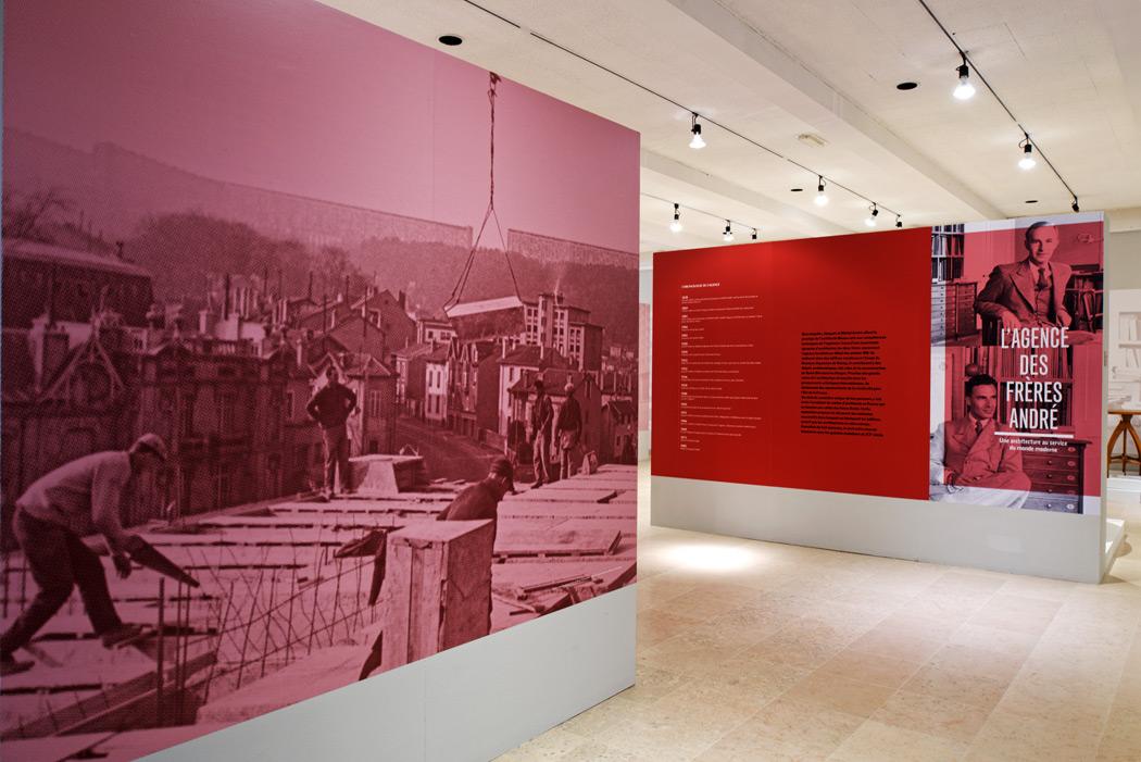 Exposition « l' agence des  frères André » musée Pierre-Noël à Saint-Dié-des-Vosges (88)