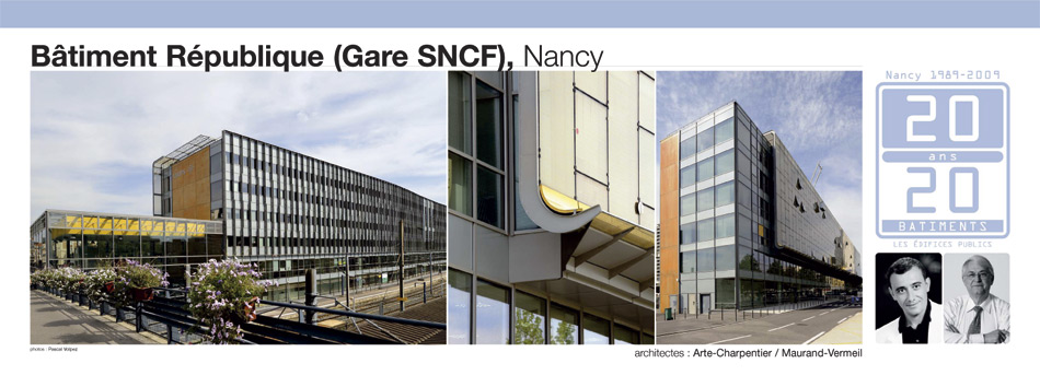 Bâtiment République (Gare SBCF), Nancy