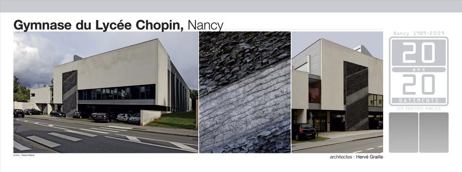 Gymnase du Lycée Chopin, Nancy