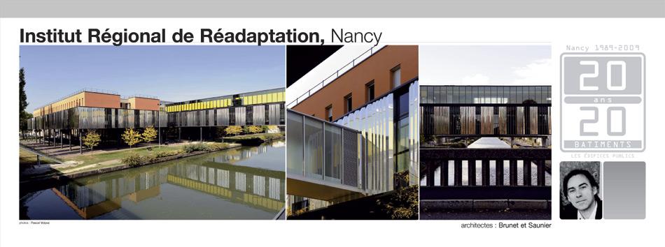 Institut régional de réadaptation, Nancy
