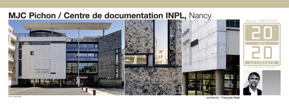 MJC Pichon / Centre de documentation INPL, Nancy