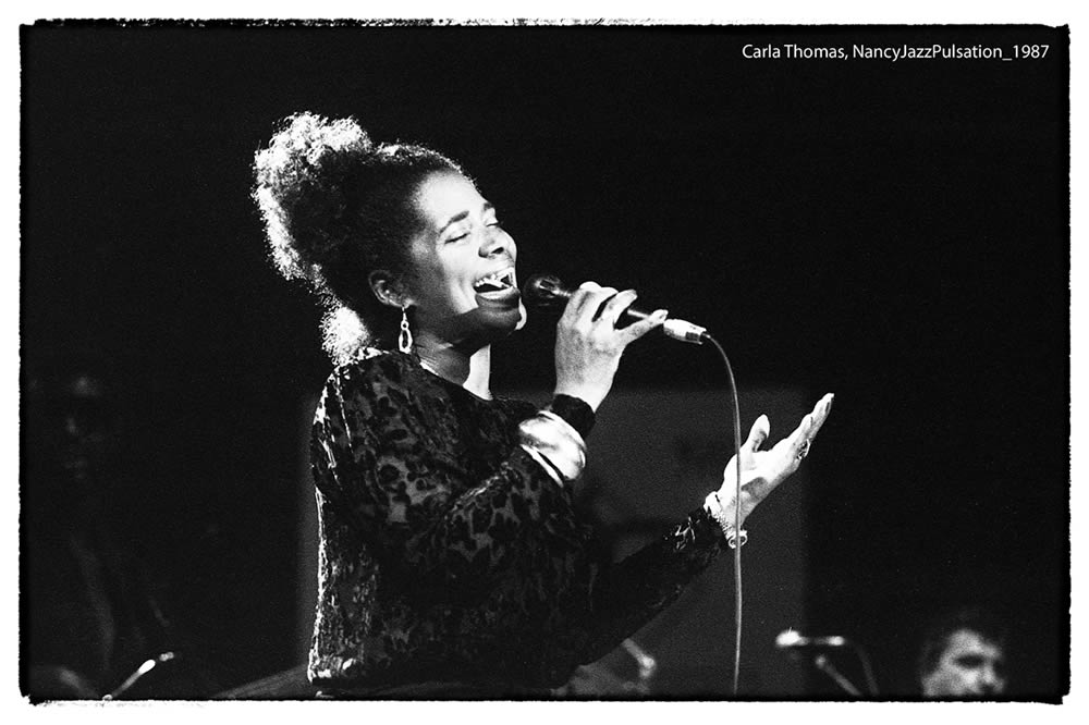 Carla Thomas au Nancy Jazz Pulsation 1987