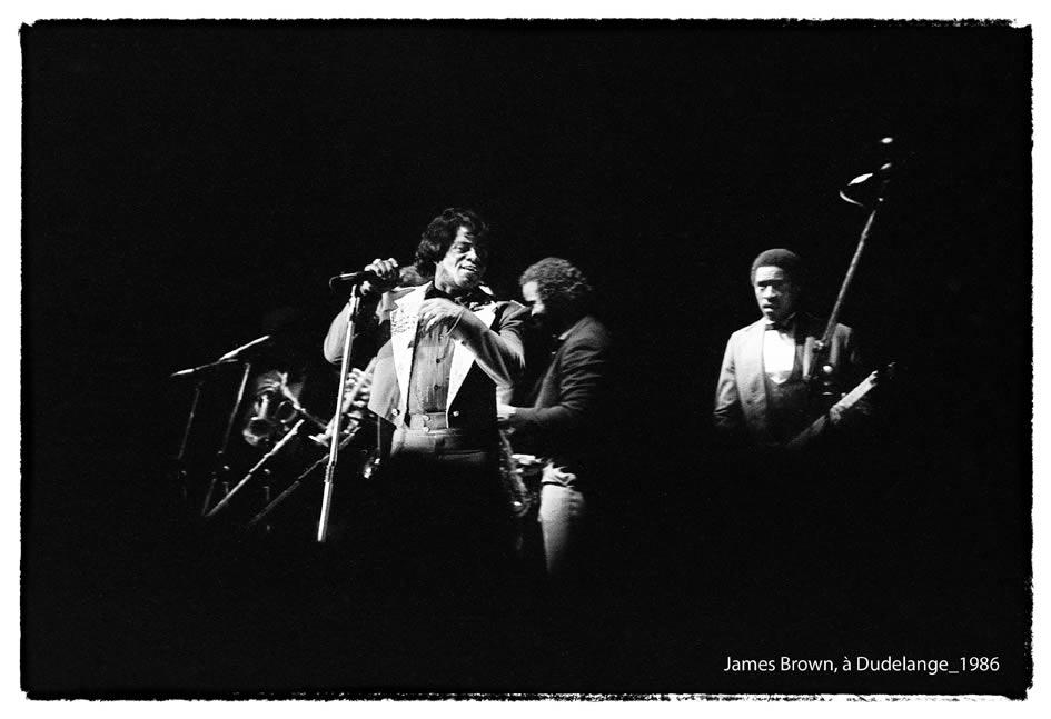 James Brown à Dudelange 1986