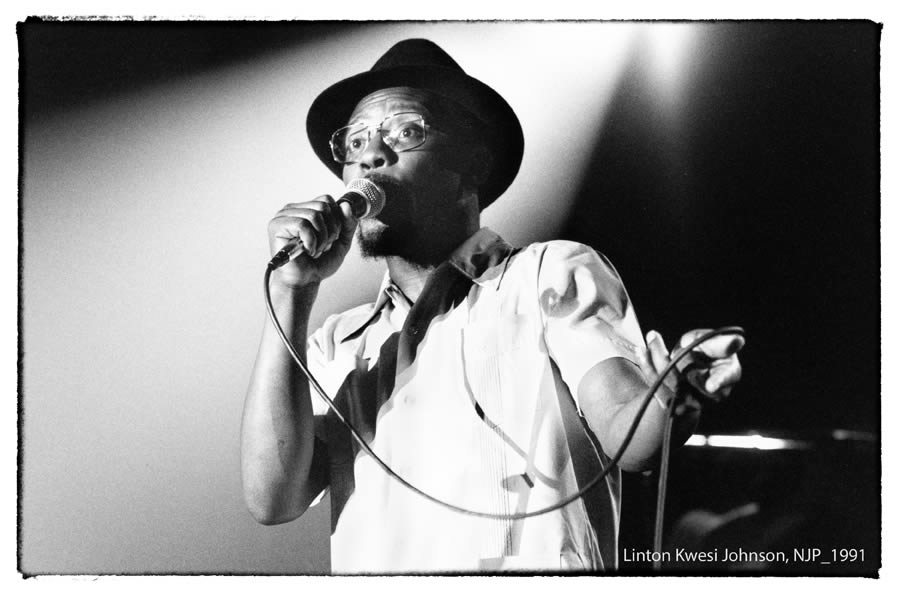 Linton Kwesi Johnson au Nancy Jazz Pulsation 1991