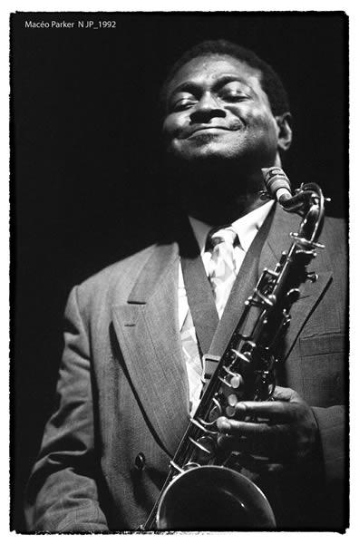 Maceo Parker au Nancy Jazz Pulsation 1992