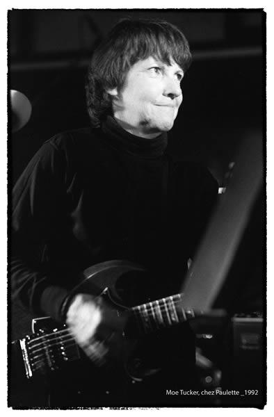 Moe Tucker chez Paulette 1992