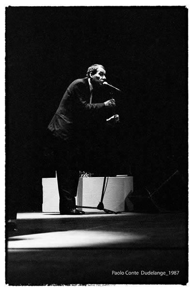 Paolo Conte à Dudelange 1987