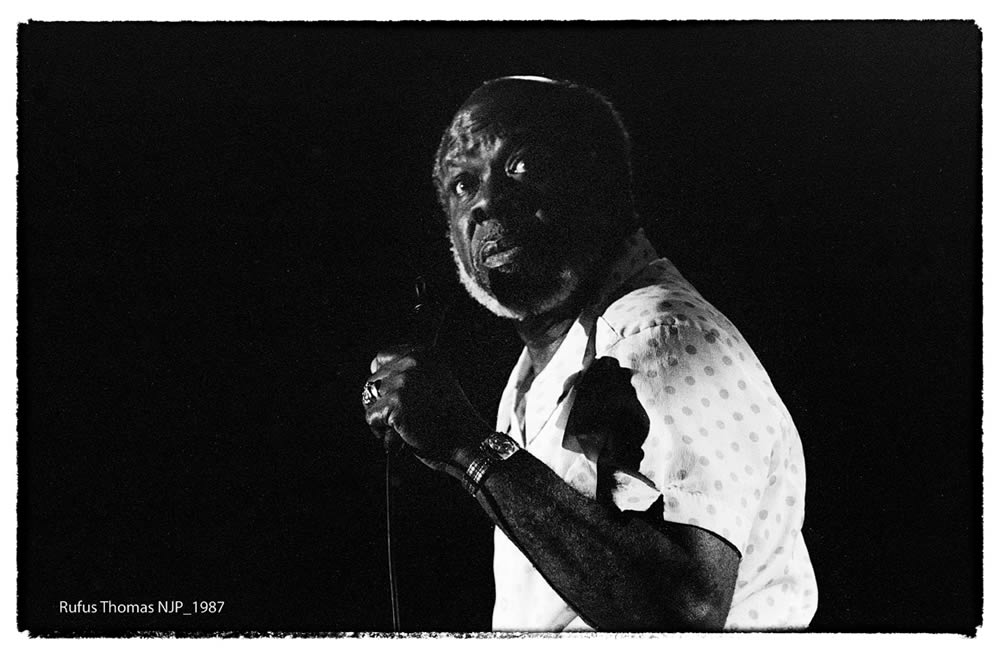 Rufus Thomas au Nancy Jazz Pulsation 1987