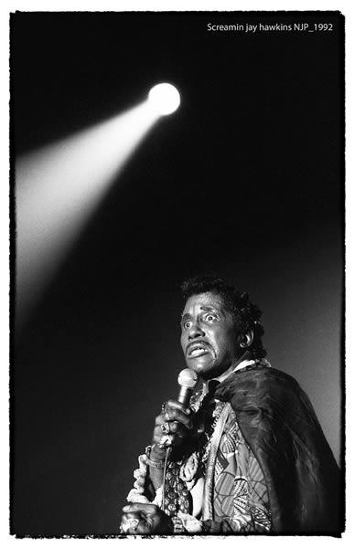 Screamin' Jay Hawkins au Nancy Jazz Pulsation 1992